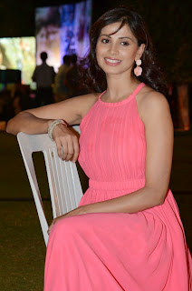 Actress Supriya Shailaja Latest Pictures in Long Dress at Weekend Love Movie Audio Release Function  0061.jpg