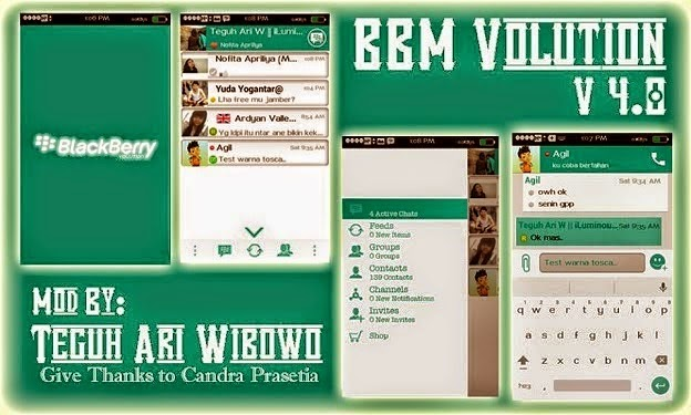 BBM MOD Volution New V4.8