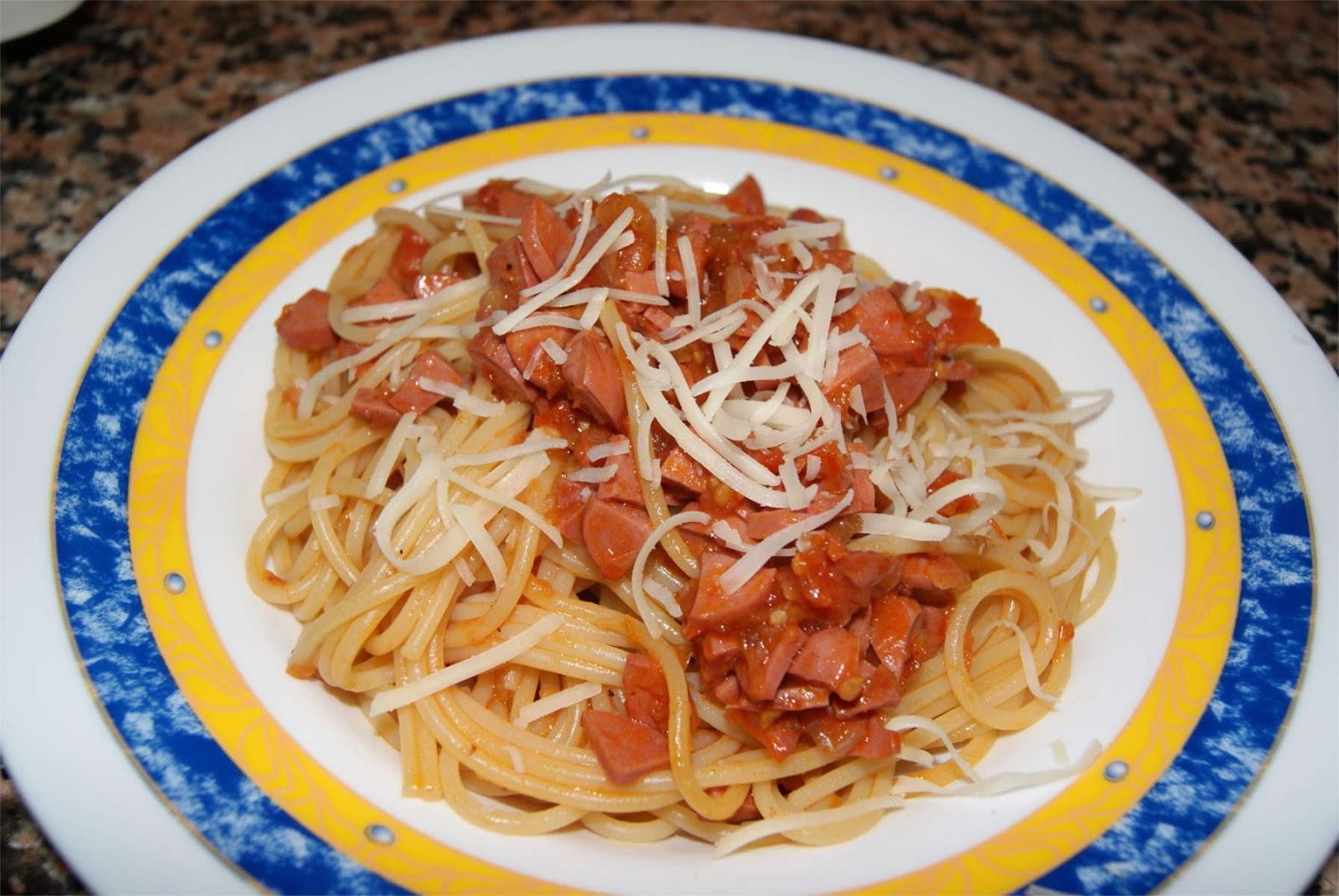 Espagueti a la boloñesa de pavo paso 5