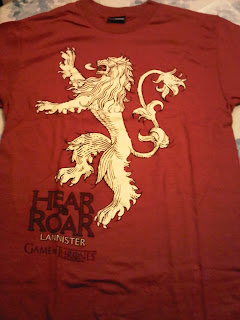 HBO Game of Thrones Lannister shirt