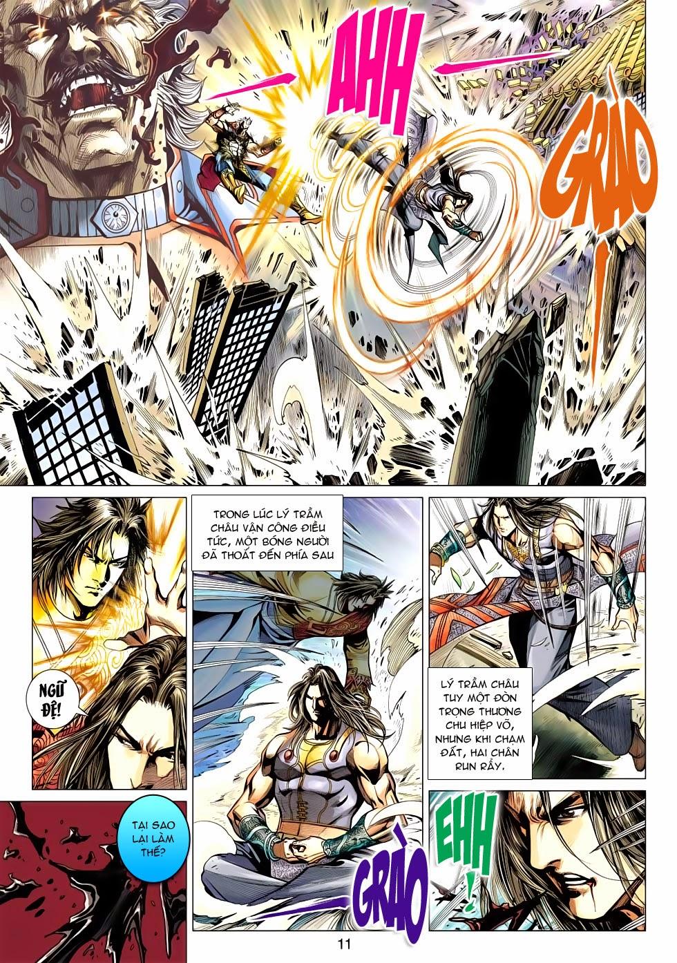 Thần Châu Kỳ Hiệp chap 32 – End Trang 11 - Mangak.info