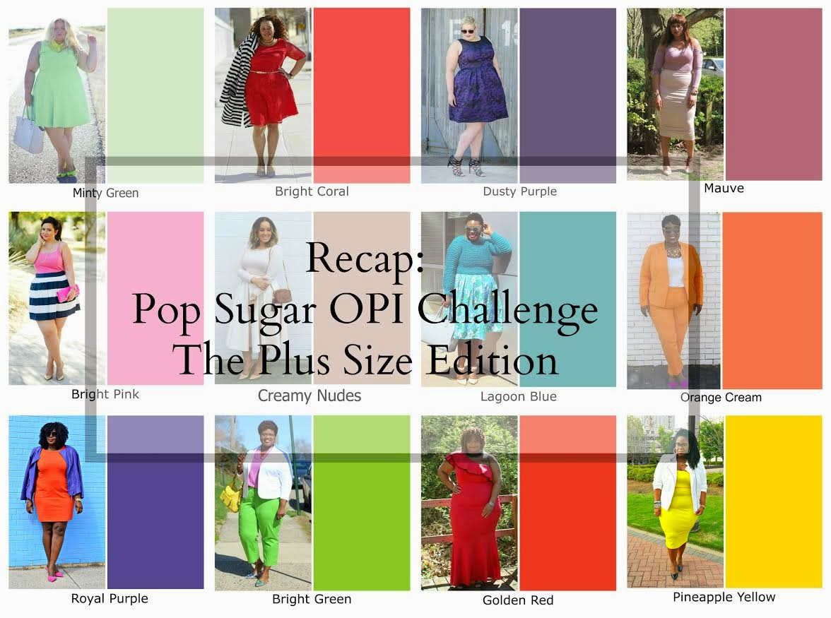 PopSugar OPI Hawaii Color Challenge Plus-Size Edition: Golden Red