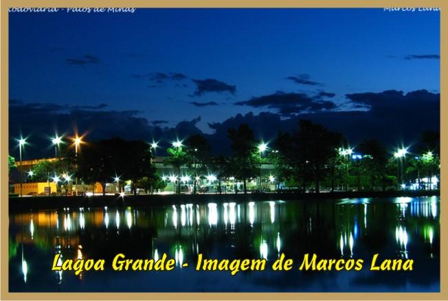Lagoa Grande - Vista Noturna