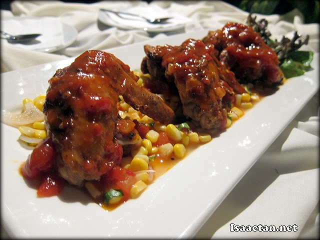 Alfresco BBQ Wings - RM21+