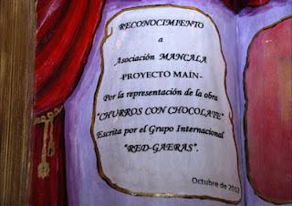 """Reconocimiento a """"Asociación Mancala"""""""