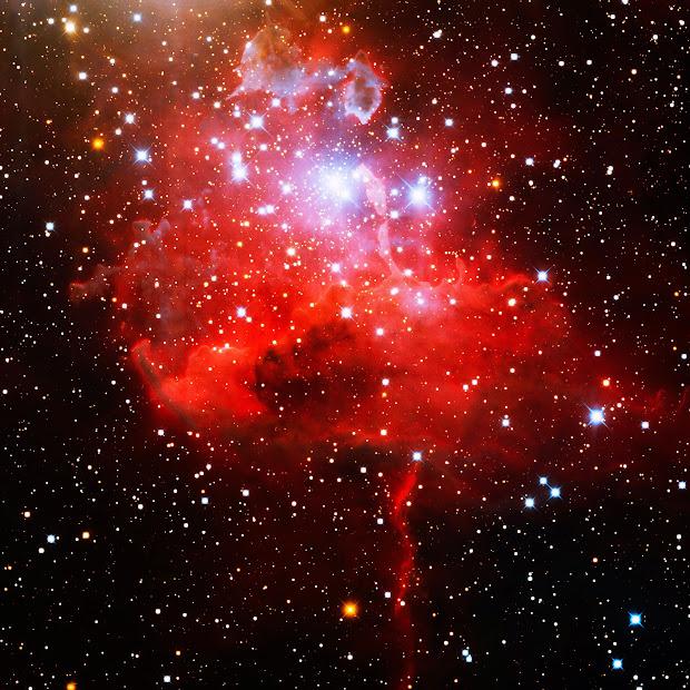 Emission Nebula IC 417