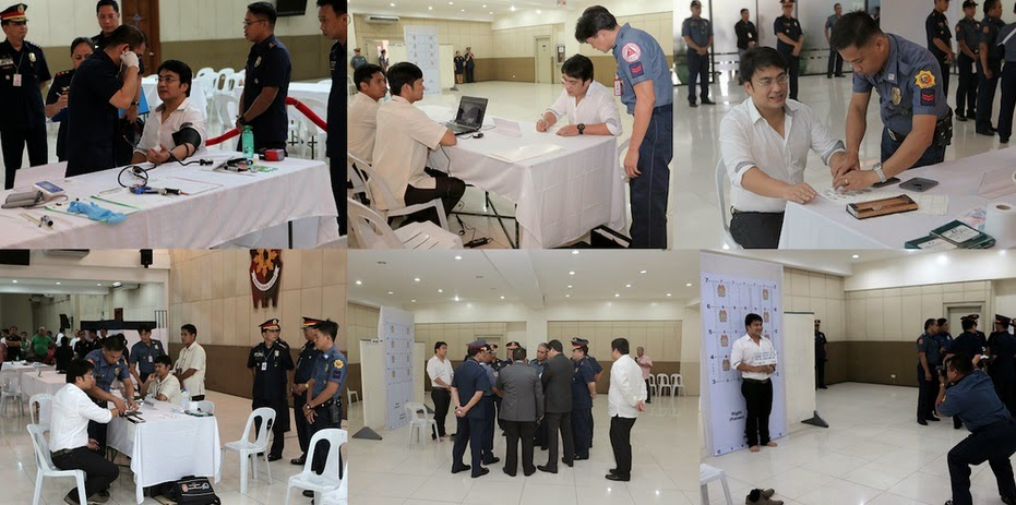 Revilla: PNP booking procedure includes medical exam, fingerprinting and taking of mugshot