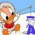 Alfabeto de Pato Donald Bebe Pescando.
