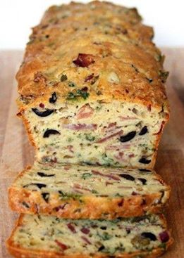 In en om die huis: Olive, bacon, ham and cheese loaf with Mrs.H.S.Ball ...