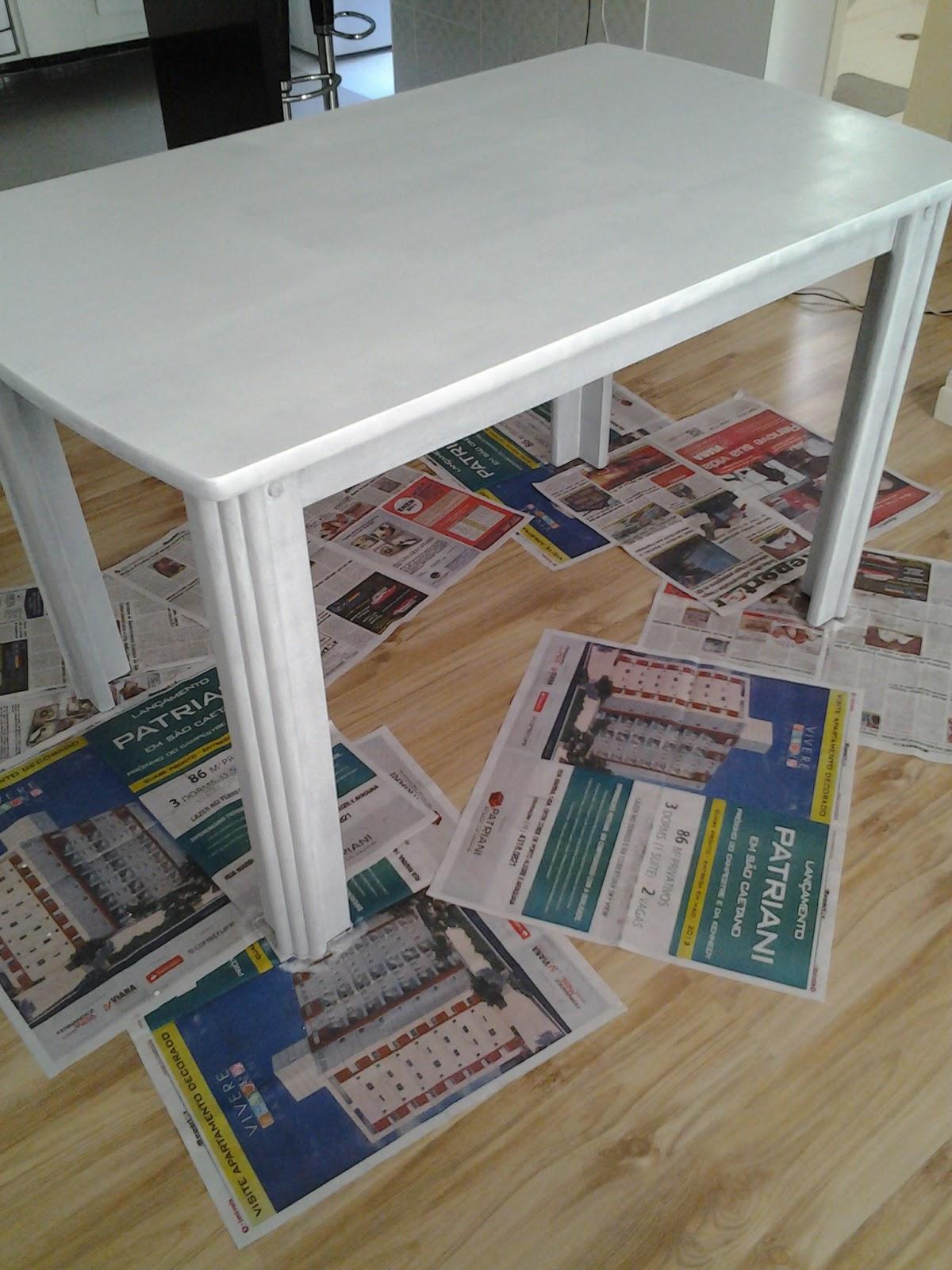 AMBIENTE IDEAL: Reformando mesa de jantar e cadeiras: parte I #7B6946 1200x1600