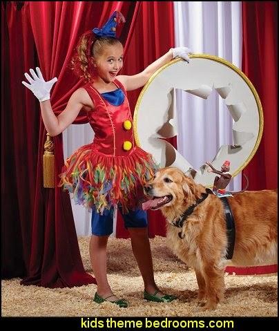big top decorating ideas-circus birthday party decorating ideas