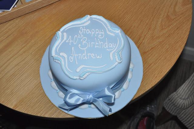 Birthday cake from Patisserie Valerie