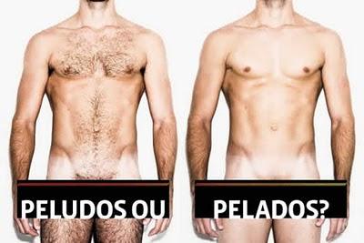 Depilação Masculina: Homens se depilam