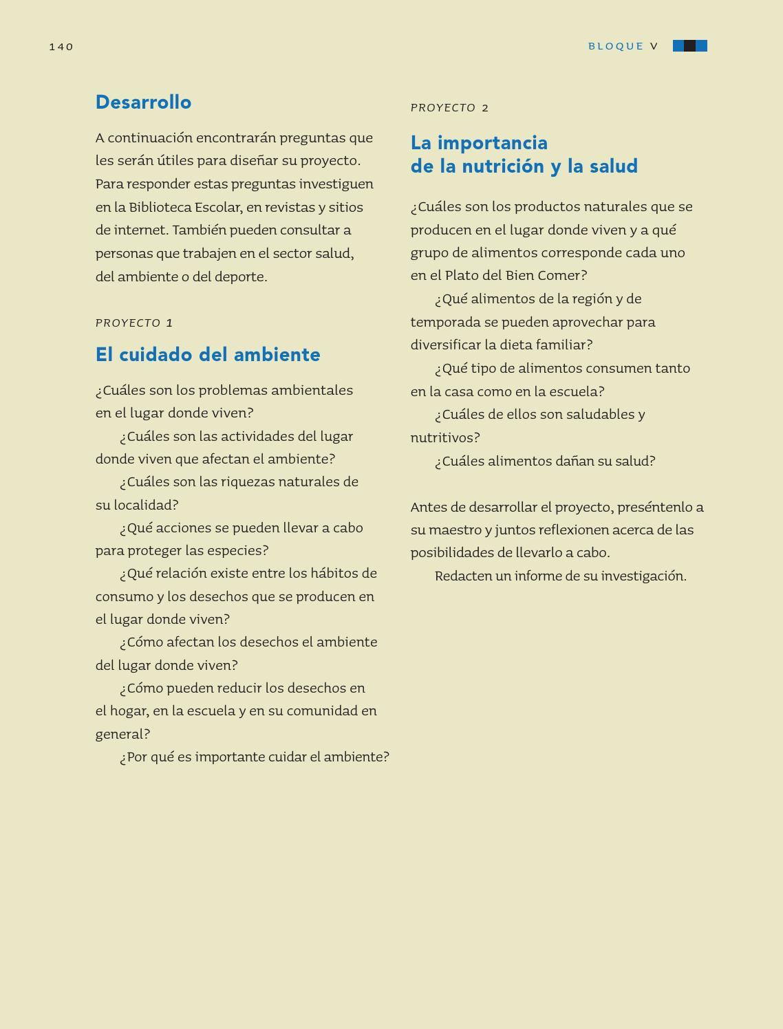 La importancia de la nutrición y la salud - Ciencias Naturales 3ro 2014-2015