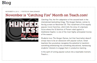 November is Catching Fire Month at Teach.com!