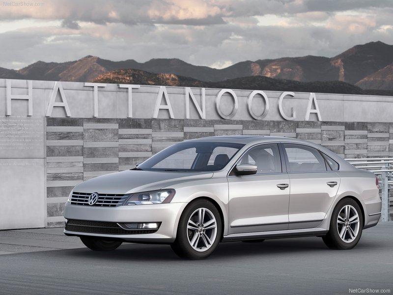 2012 Volkswagen Passat US Editions