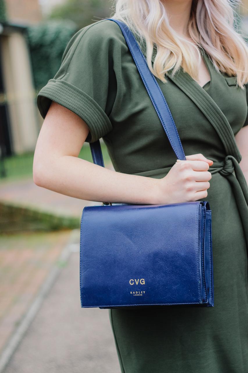 Radley Navy Blue Portman Bag