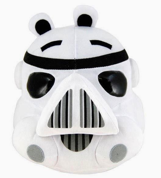 Peluche Angry Birds Star Wars Cerdo Stormtrooper