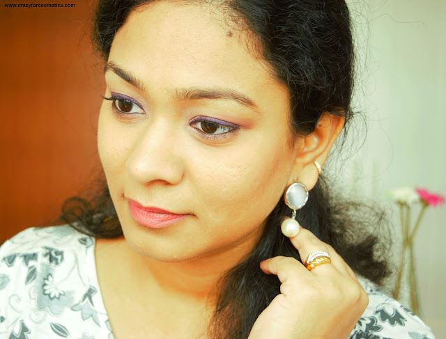 Simple morning fresh look using Urban Decay Palette