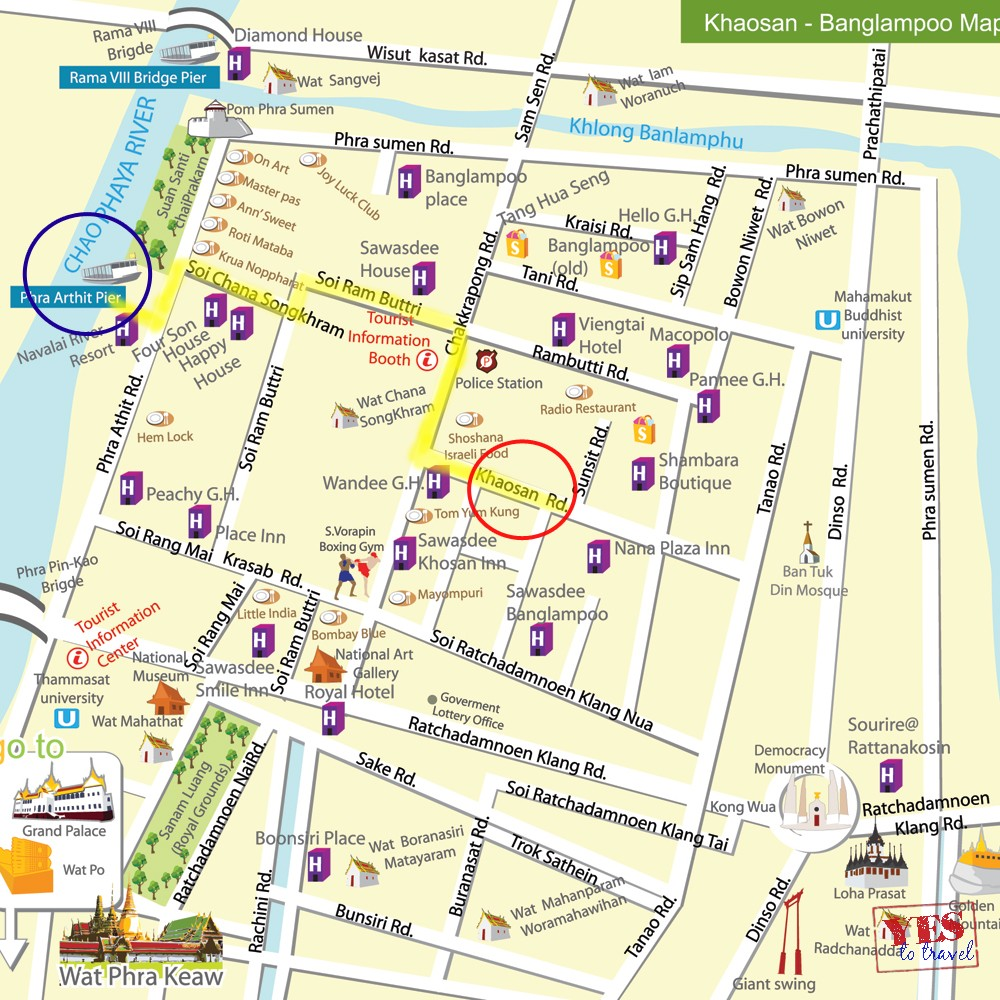 Getting There: Khao San Road, Bangkok  Yes to Travel