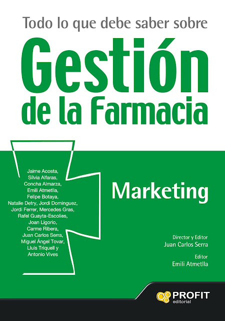 Gestión de la Farmacia. Marketing. Disponible en Libreria Cilsa de Alicante.