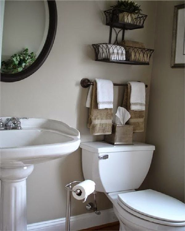 Beautiful Decorating Small Bathrooms With Small Bathroom Hanging Storage Upon Toilet Design Ideas,