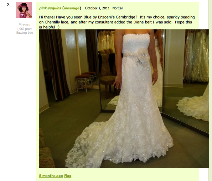 wedding dress regrets