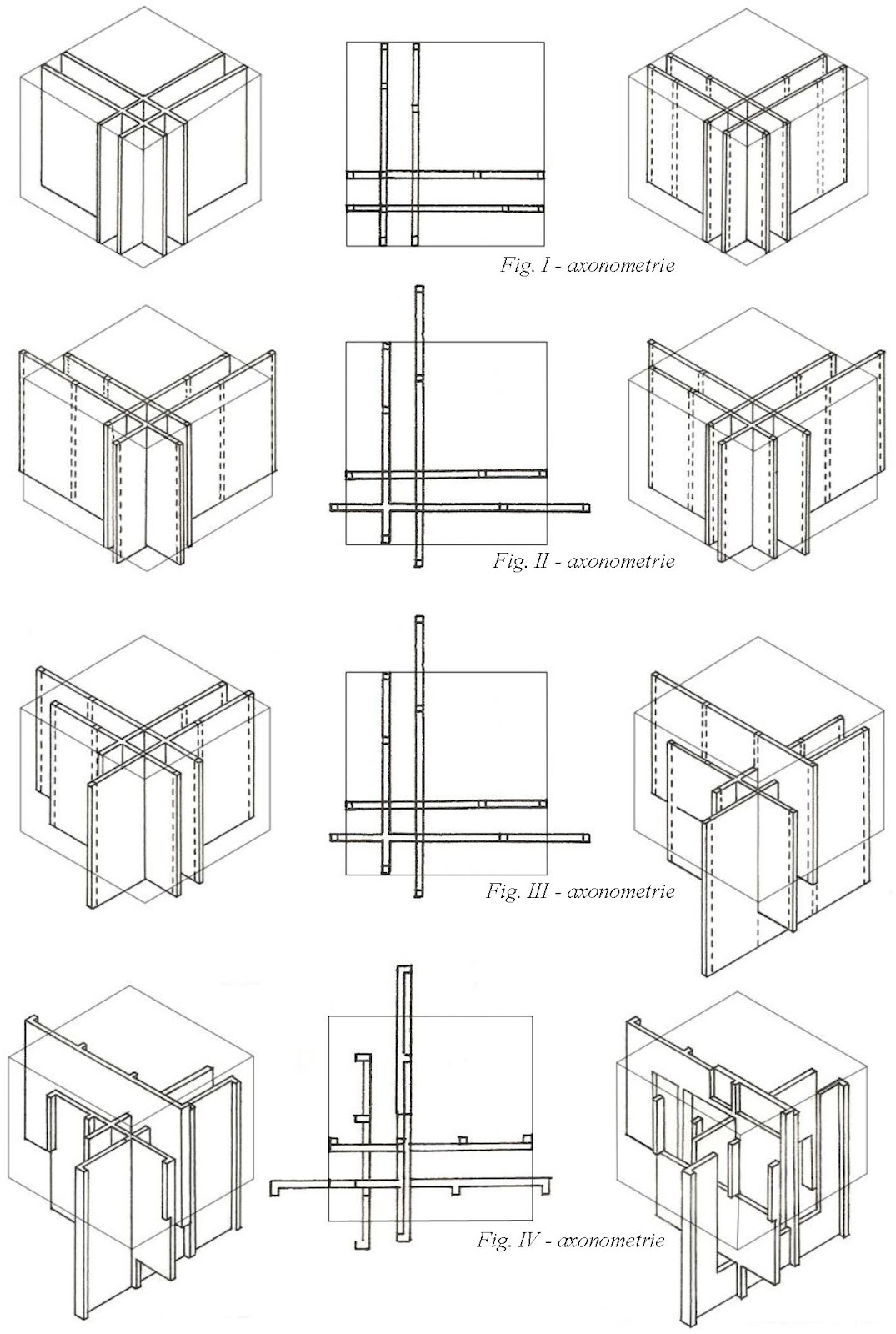 my designs  u0026 studies  peter eisenman  house vi  absence