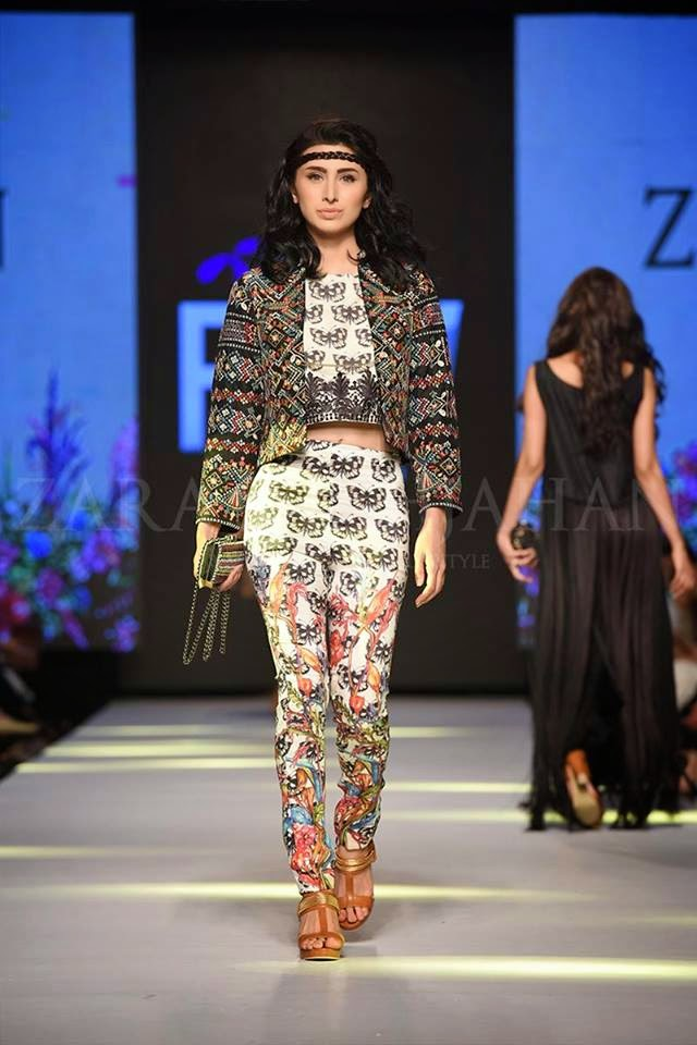 Zara Shahjahan TPFW 2015 summer collection dresses