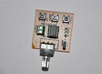 Mini Servo Controller - Prototype