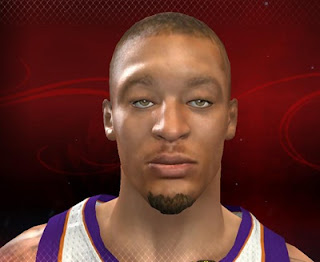 NBA 2K13 Default Michael Beasley Cyber face