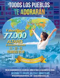 77,000 Altares de Adoracion: Convocatoria