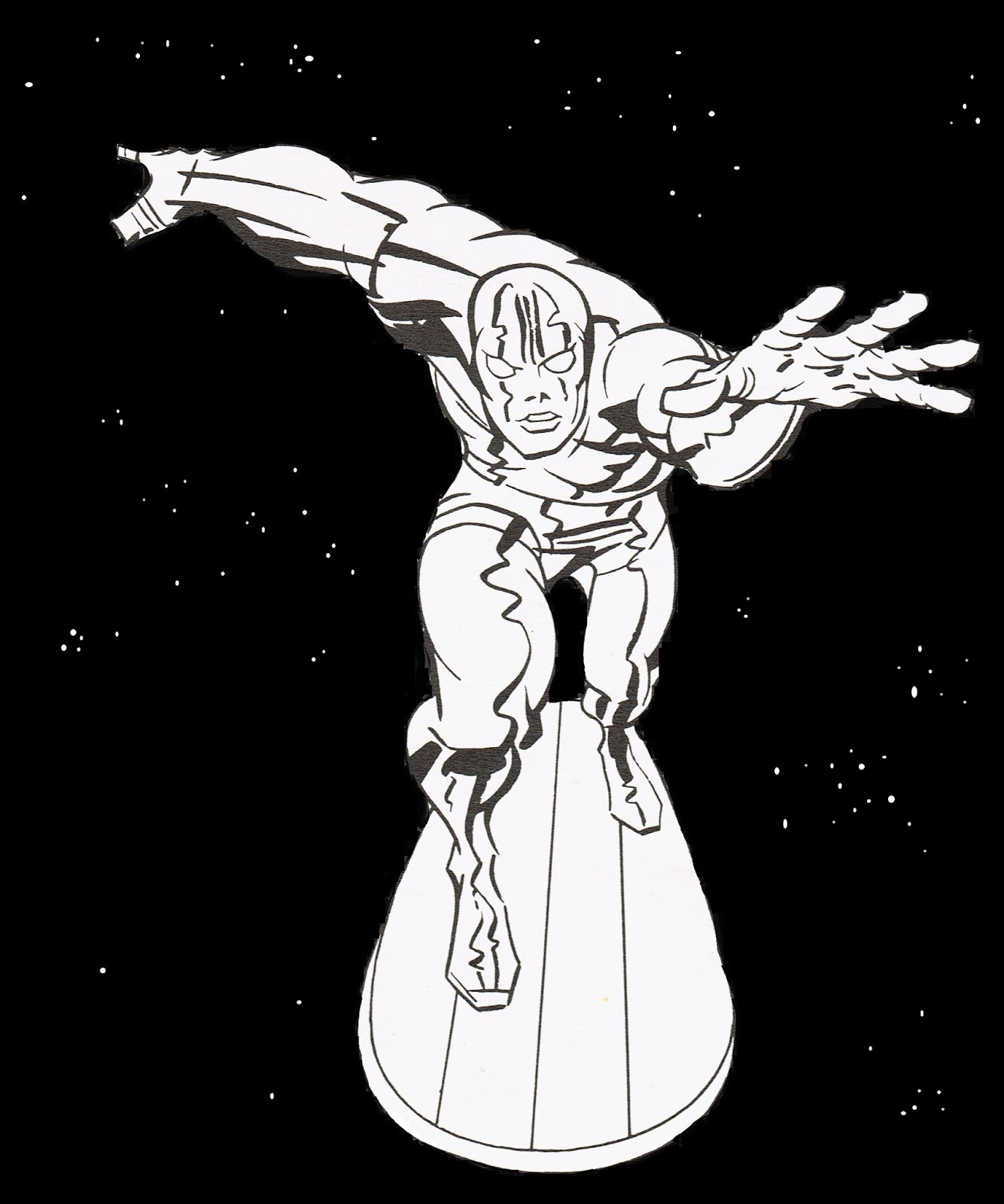 capns comics the silver surfer by jack kirby