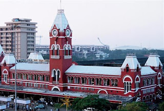 Madras railway station picture