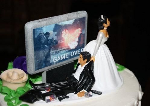 Dear husband, your game is over