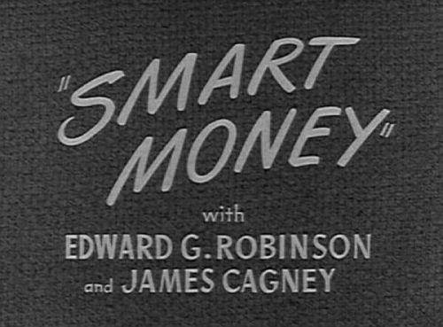 smart money 1931