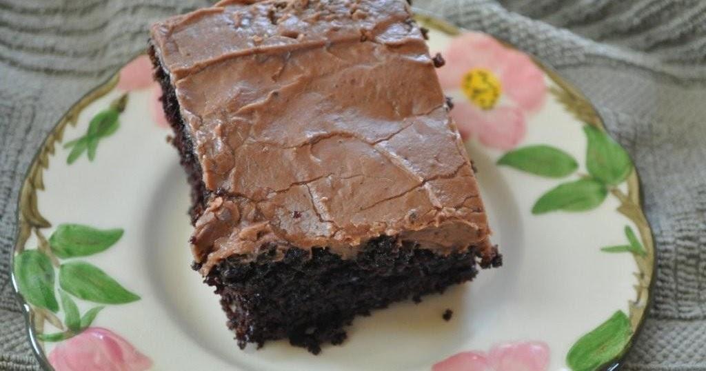 Easy Ti Make Black Out Cake