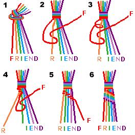 Friendship Bracelet Name Patterns3