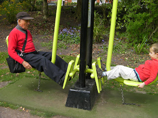 park exercise machine, cardiovascular exercise
