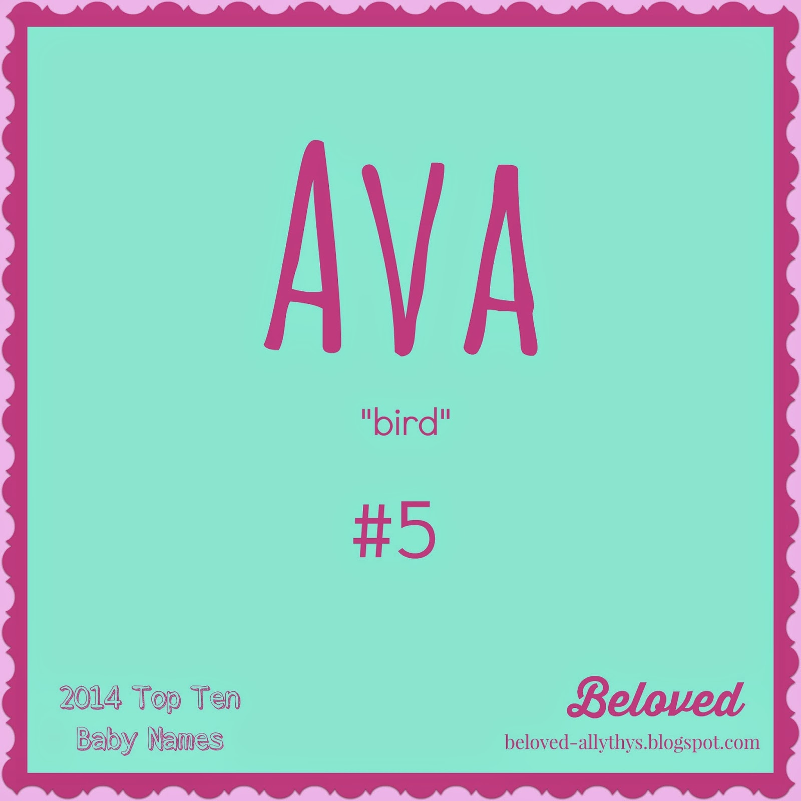 Beloved Baby Names May 2015