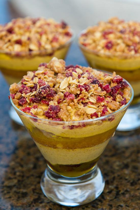 ... Disney Diner: Food & Wine Festival 2011: Pumpkin Mousse Trifle Recipe