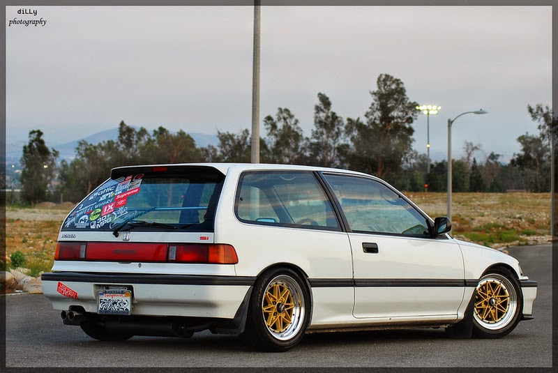 Honda Civic EF on Work Equip