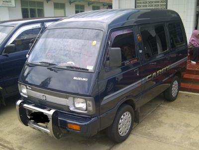 Eksterior Suzuki Carry ST100 Karoseri