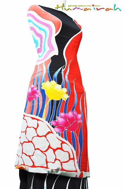 Batik Sutera - Motif Lalang 5