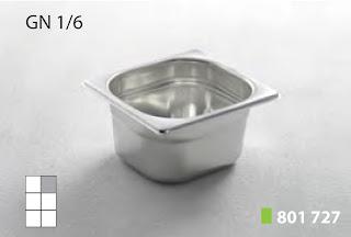 Recipente Gastronomice. Accesorii pentru Dotari HoReCa, Vascheta GN 1/6 Inox, Cuva GN 1/6 Inox, Tava Gastronorm GN 1/6 Inox, Recipiente Inox pentru Bucatarii Profesionale, Pret