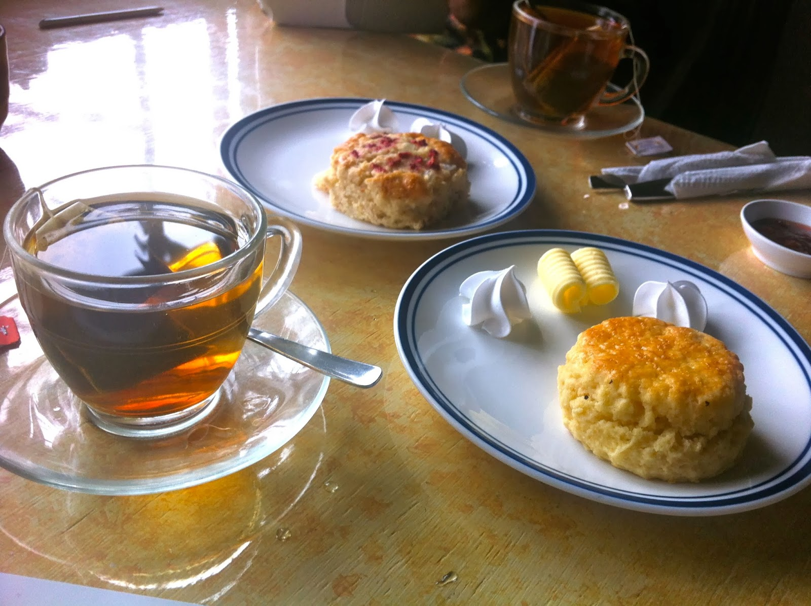 Scones and tea at the Cameron Highlands, Malaysia