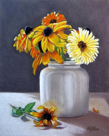 A Jar of Sunshine (pastel)