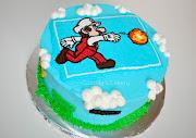 Ethan's Super Mario Bros Cake