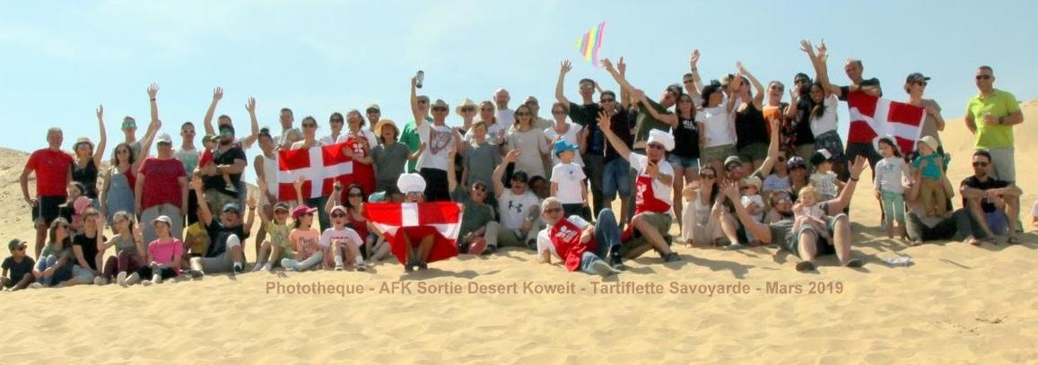 AFK Tartiflette Savoyarde dans le Desert