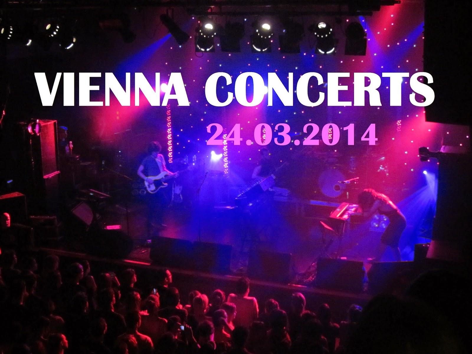 Vienna concerts; Vienna blog